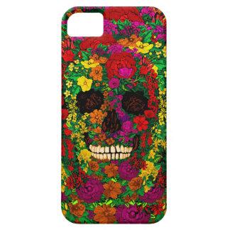 Regenbogen-Blumen-Schädel-Telefon-Kasten Schutzhülle Fürs iPhone 5