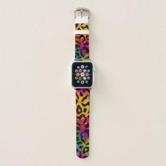 Regenbogen-Camouflage Apple Watch Armband