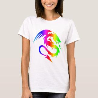 Regenbogen-Drache 4 T-Shirt