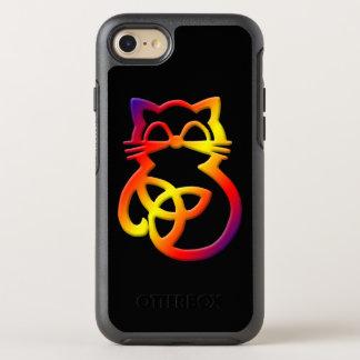 Regenbogen-Dreiheits-Knoten-keltisches OtterBox Symmetry iPhone 8/7 Hülle