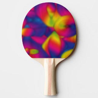 Regenbogen-Entwurfs-Blau nach innen Tischtennis Schläger