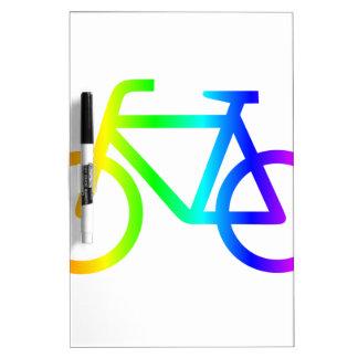 Regenbogen-Fahrrad 3 Memoboard