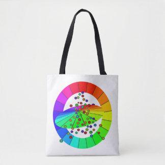 Regenbogen färbt Diversity STOLZ künstlerische Tasche