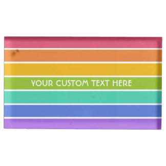 Regenbogen färbt kundenspezifischen