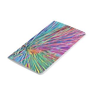 Regenbogen färbt Pflanzen-Taschen-Buch/Notizbuch Taschennotizbuch