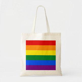 Regenbogen-Flagge Tragetasche