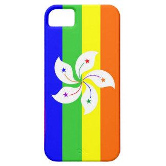 Regenbogen-Flaggenhomosexueller Hongs Kong Etui Fürs iPhone 5