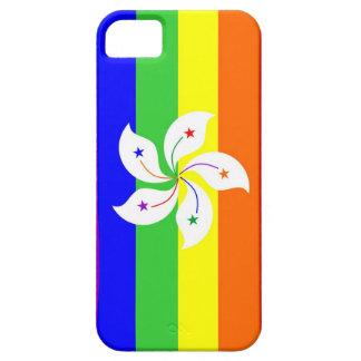 Regenbogen-Flaggenhomosexueller Hongs Kong iPhone 5 Etui
