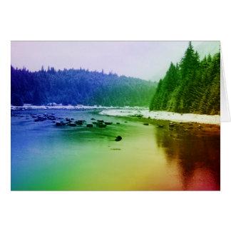 Regenbogen-Fluss Karte