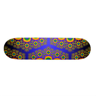 Regenbogen-Fraktal Design: Kundenspezifisches Skat 20,6 Cm Skateboard Deck