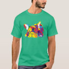 Regenbogen Französische Bulldogge T-Shirt