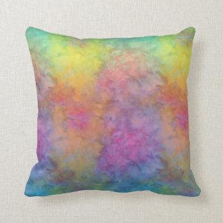 [Regenbogen Frost] mehrfarbige gefärbte Krawatte Kissen
