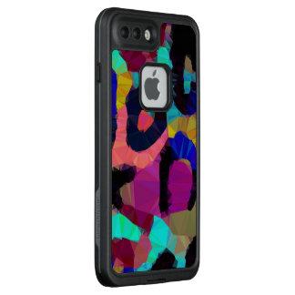Regenbogen-Gepard-Druck LifeProof FRÄ' iPhone 7 Plus Hülle