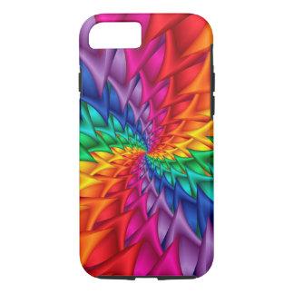 Regenbogen-gewundener Dornen iPhone 6 Fall iPhone 8/7 Hülle