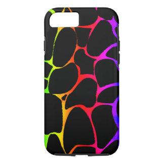 Regenbogen-Giraffe iPhone 7 Hülle