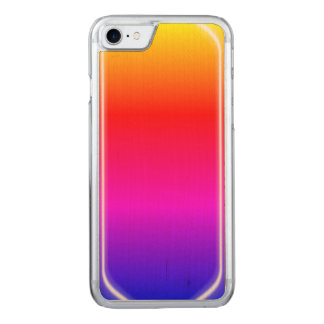 Regenbogen-Glanz Carved iPhone 7 Hülle