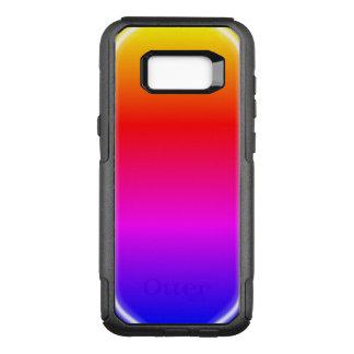 Regenbogen-Glanz OtterBox Commuter Samsung Galaxy S8+ Hülle