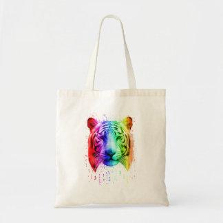 Regenbogen-Graffiti-Farben-Spritzen-sibirischer Tragetasche
