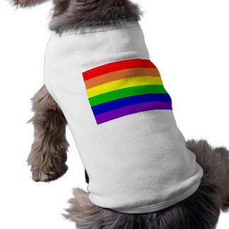 Regenbogen-Haustier-Shirt Shirt