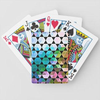 Regenbogen-Hexe-Grafikdesign Bicycle Spielkarten
