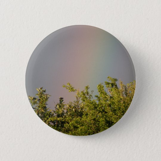 Regenbogen-Himmel-Knopf Runder Button 5,1 Cm