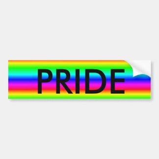 """Regenbogen """"Homosexuelles oder LGBT STOLZ"""" Autoaufkleber"""
