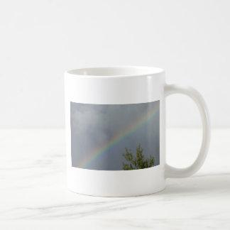 Regenbogen in den Wolken Kaffeetasse