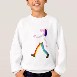 Regenbogen keucht Einhorn Sweatshirt