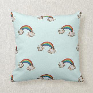 Regenbogen-Kissen Zierkissen
