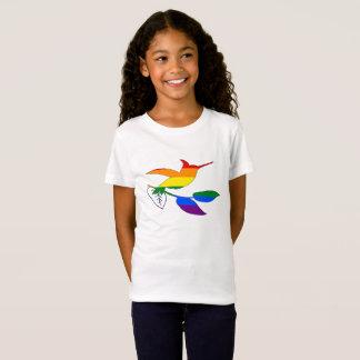 Regenbogen-Kolibri T-Shirt