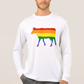 Regenbogen-Kuh T-Shirt
