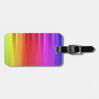 Regenbogen-Licht-Entwurf Kofferanhänger