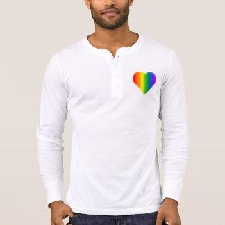 Regenbogen-Liebe-Shirt der Gleich-Sex der Gay T-Shirt