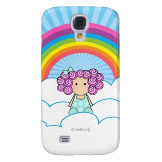 Regenbogen-Mädchen-Fall für Samsung-Galaxie Galaxy S4 Hülle