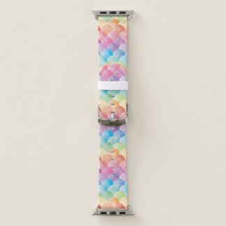 Regenbogen-Meerjungfrau-Apple-Uhrenarmband Apple Watch Armband