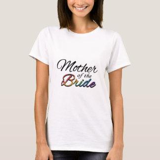 """Regenbogen """"Mutter der Braut """" T-Shirt"""