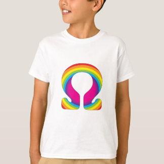 Regenbogen-Ohm-Yoga-Beschwörungsformel T-Shirt