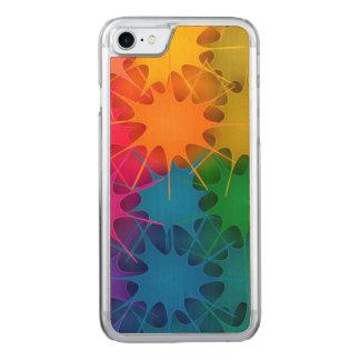Regenbogen platsch! carved iPhone 8/7 hülle