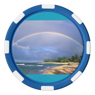 Regenbogen-Poker-Chips Poker Chip Sets