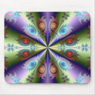 Regenbogen-Quartett Mousepad