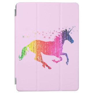 Regenbogen-Rosa-Einhorn iPad Air Hülle