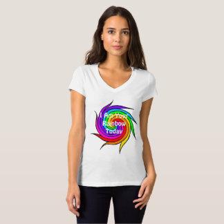 Regenbogen-Spirale bin ich Ihr Regenbogen-heute T T-Shirt