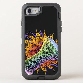 Regenbogen Stammes- Doumbek OtterBox Defender iPhone 8/7 Hülle
