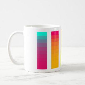 Regenbogen-Steigungs-Tasse Kaffeetasse