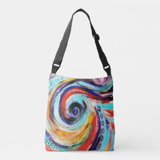 Regenbogen-Strudel-Tasche Tragetaschen Mit Langen Trägern