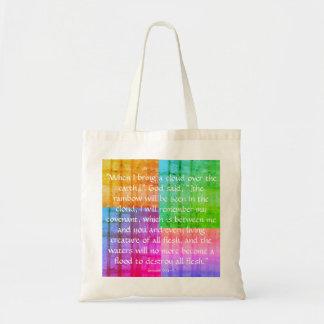 Regenbogen-Taschen-Tasche Budget Stoffbeutel