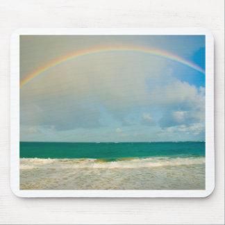 Regenbogen über Ozean Mousepads