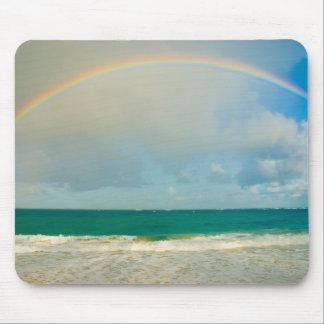 Regenbogen über Ozean Mousepad