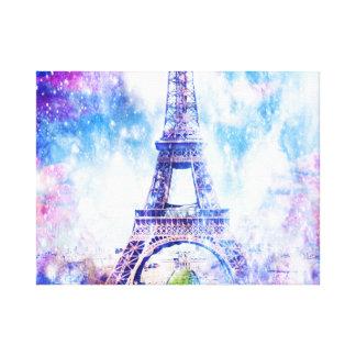 Regenbogen-Universum Paris Leinwanddruck