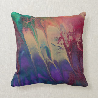 Regenbogen-ursprüngliche Malerei-helles buntes Kissen